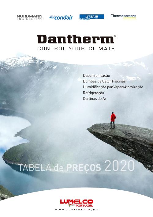 Tabela Dantherm 2020